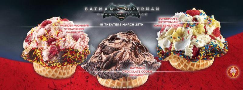 Superman Cake Batter Ice Cream