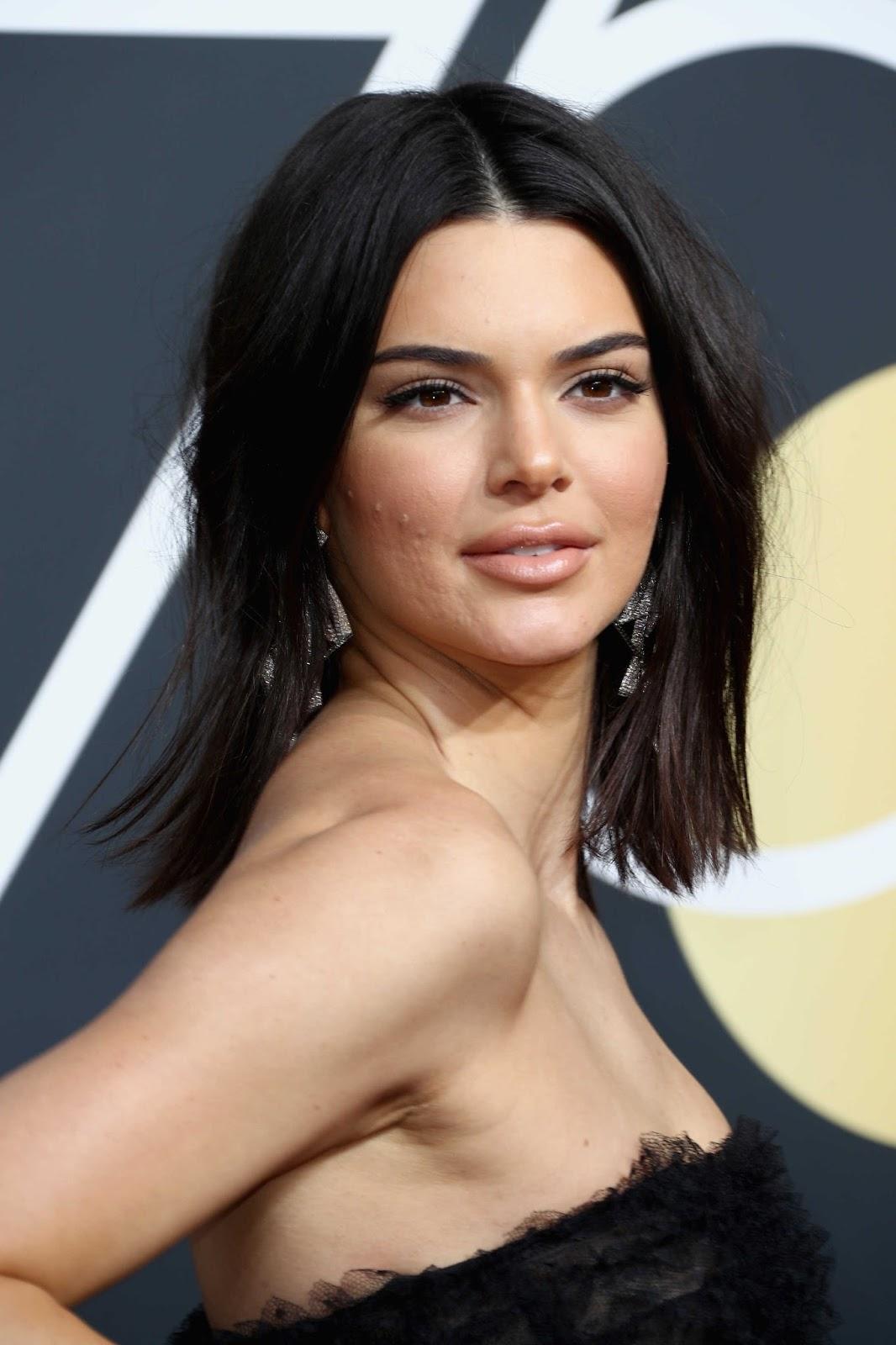 Kendall Jenner at Golden Globe Awards