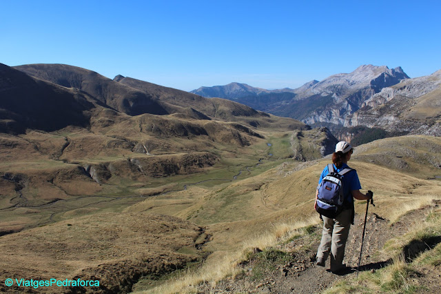 Gabardito, colors de tardor, Parque natural de los Valles Occidentales, Val d'Echo, Valle de Hecho, Pirineu Aragonès, senderisme