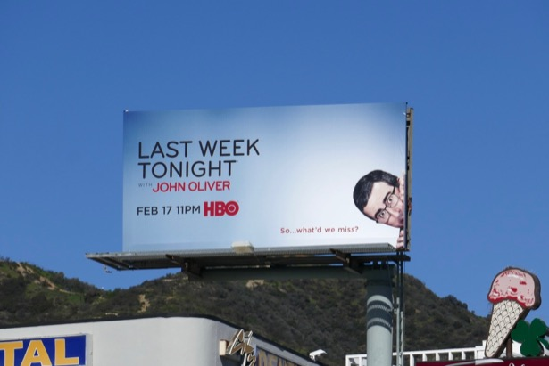 Last Week Tonight John Oliver 6 billboard