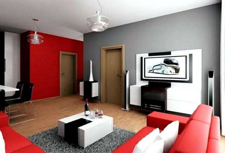 warna cat interior ruang keluarga 2
