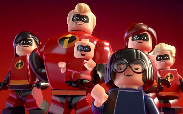 LEGO Disney•Pixar Os Incríveis