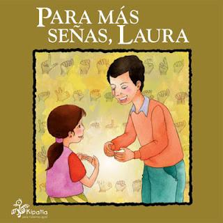 Imagen del Libro de cuentos Para más señas, Laura