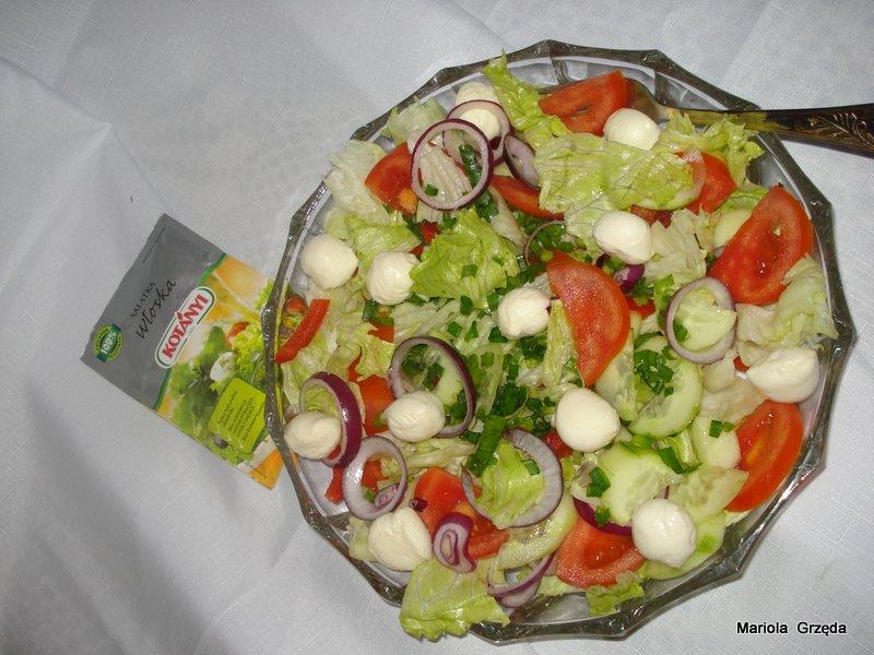 Salatka Lekka Fantazja Kulinarne Pysznosci Molki