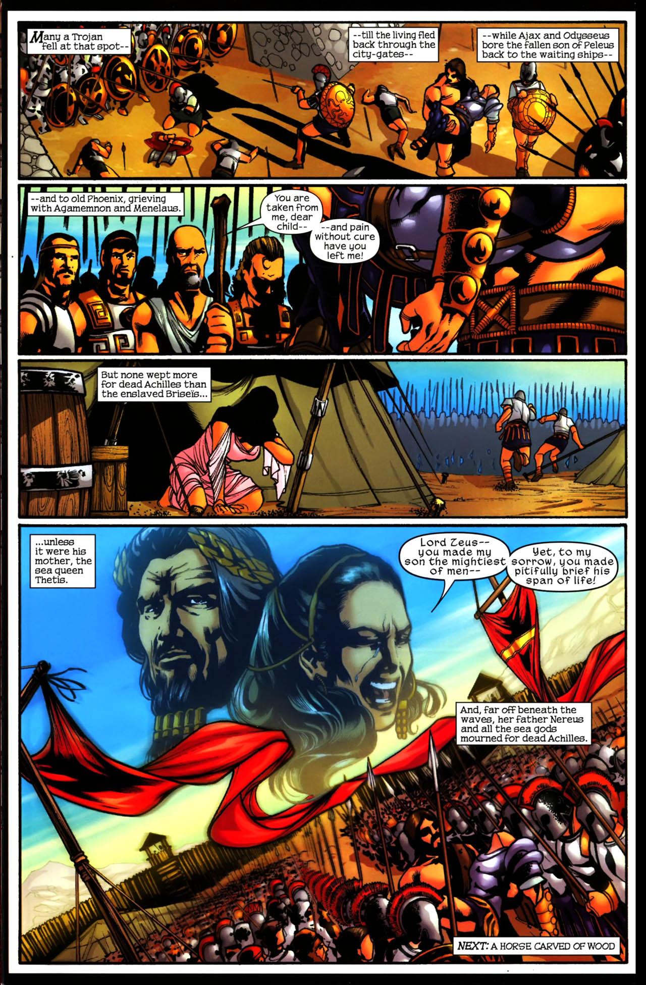 Read online Trojan War comic -  Issue #3 - 24