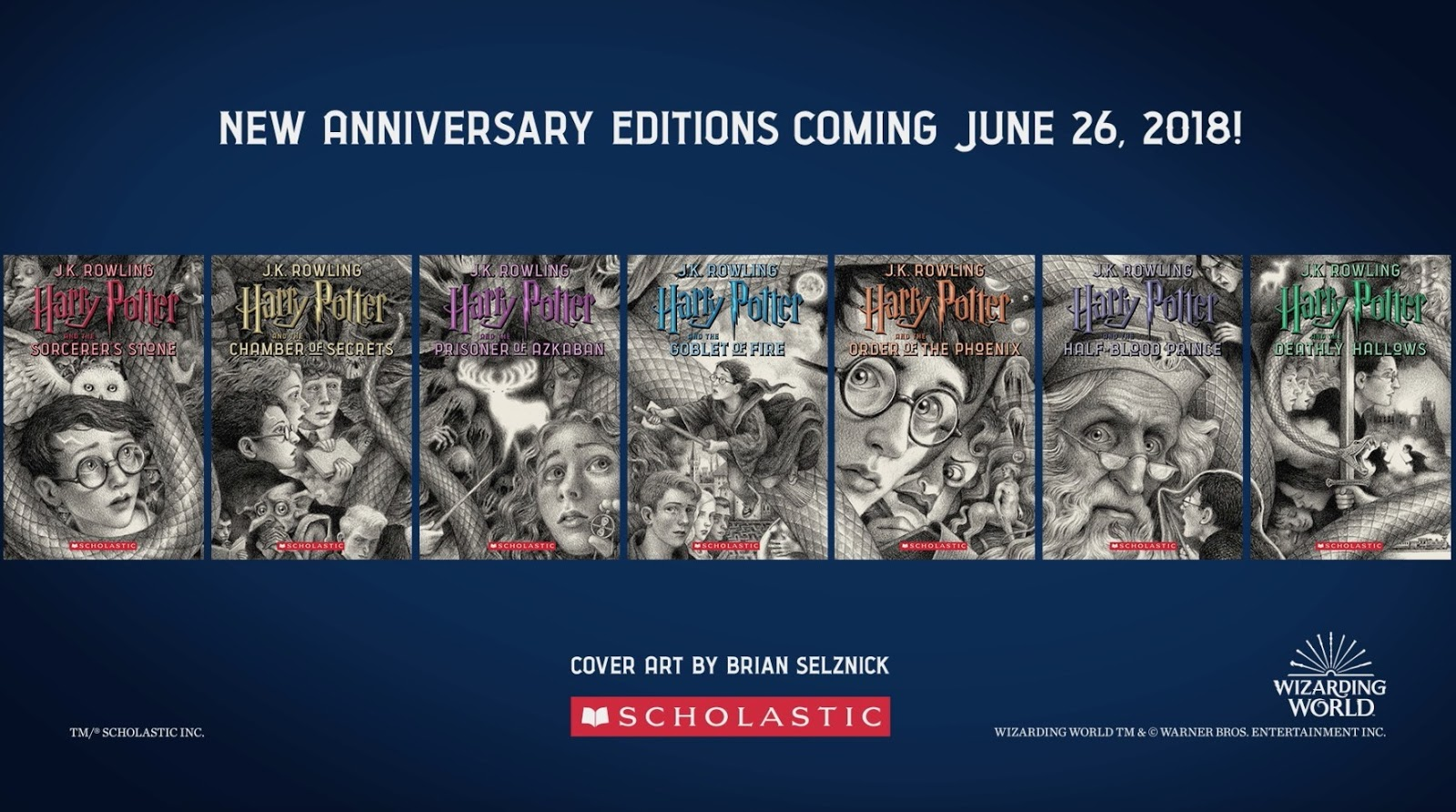 543ba09c8442 New Editions Illustrated by Bestselling and Caldecott Medal-Winning Artist  Brian Selznick Coming June 26
