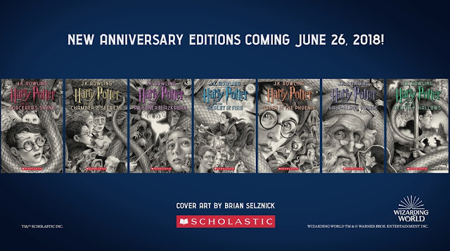 Harry Potter New Editions Illustrated by Bestselling and Caldecott Medal-Winning Artist Brian Selznick