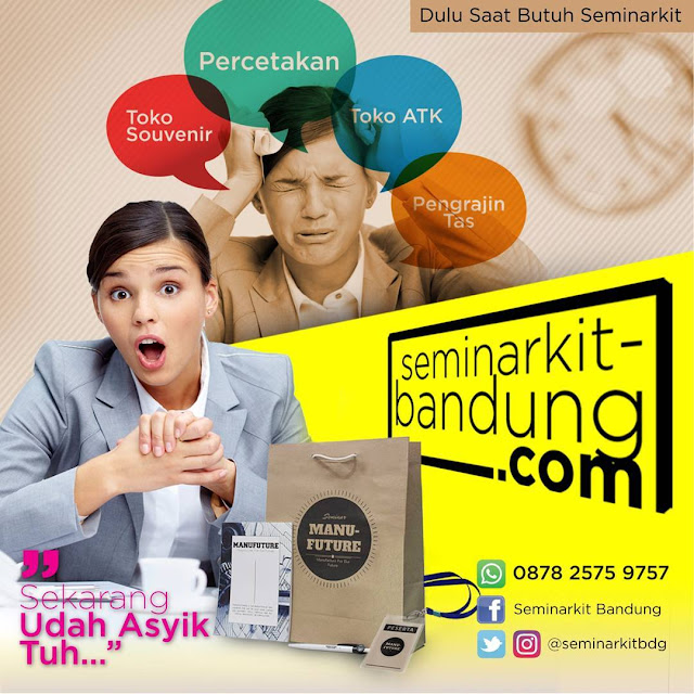 Seminar kit Unik made in Bandung