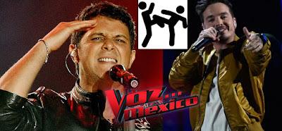 Pelea entre J Balvin y Alejandro Sanz en La Voz México
