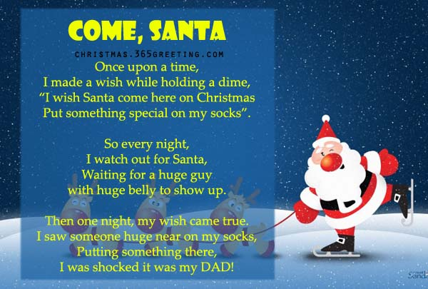 Merry Christmas Funny Poems 2017