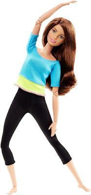 JUGUETES - BARBIE Movimientos sin limites : Muñeca Fitness Azul Producto Oficial 2016 | Mattel DJY08 | A partir de 3 años Comprar en Amazon España