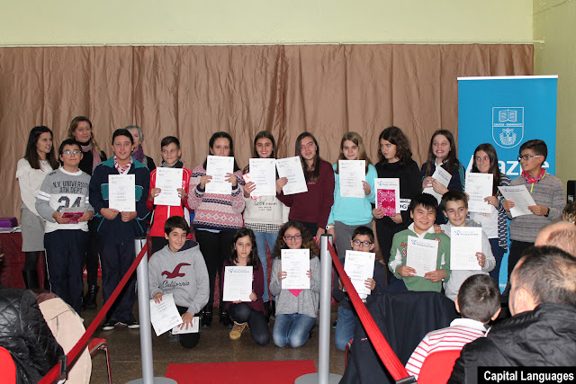 Los escolares de Alazne recibe el certificado de Cambridge Young Learners