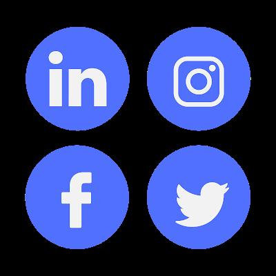 Sosyal medya ikonları, Sosyal medya, İkonlar