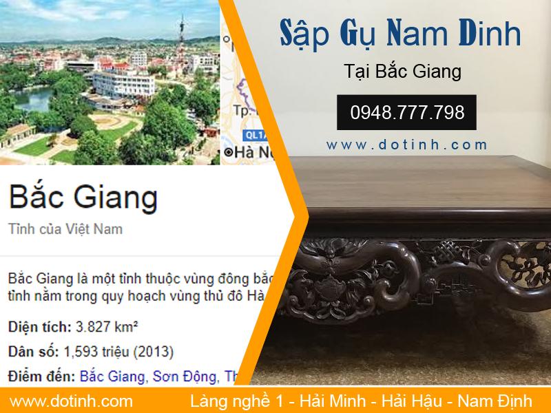 Tìm mua sập gỗ tại Bắc Giang - Đồ gỗ mỹ nghệ Bắc Giang?