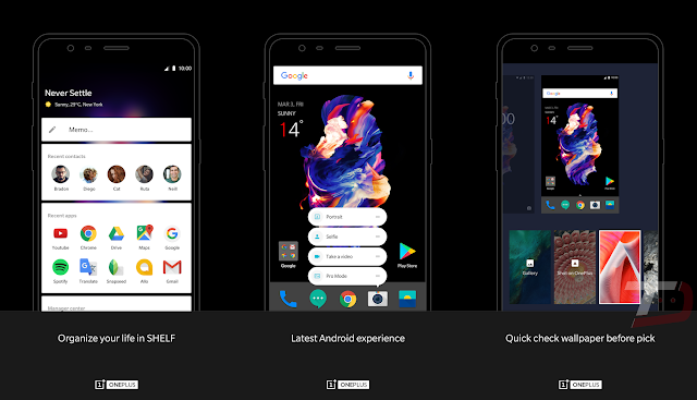 Official OnePlus Launcher Get Listed on Play Store and Then Taken Down