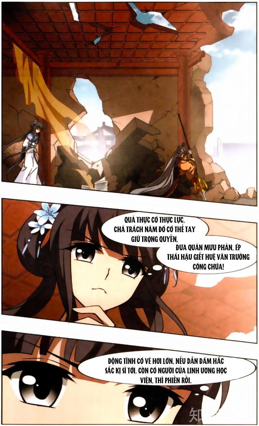 Phượng Nghịch Thiên Hạ Chap 125 - Trang 9