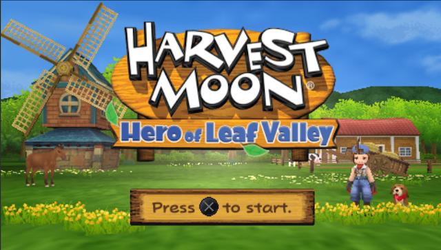 [Game PSP] Daya Tarik Utama Harvest Moon Hero Of Leaf Valley (HM Holv)