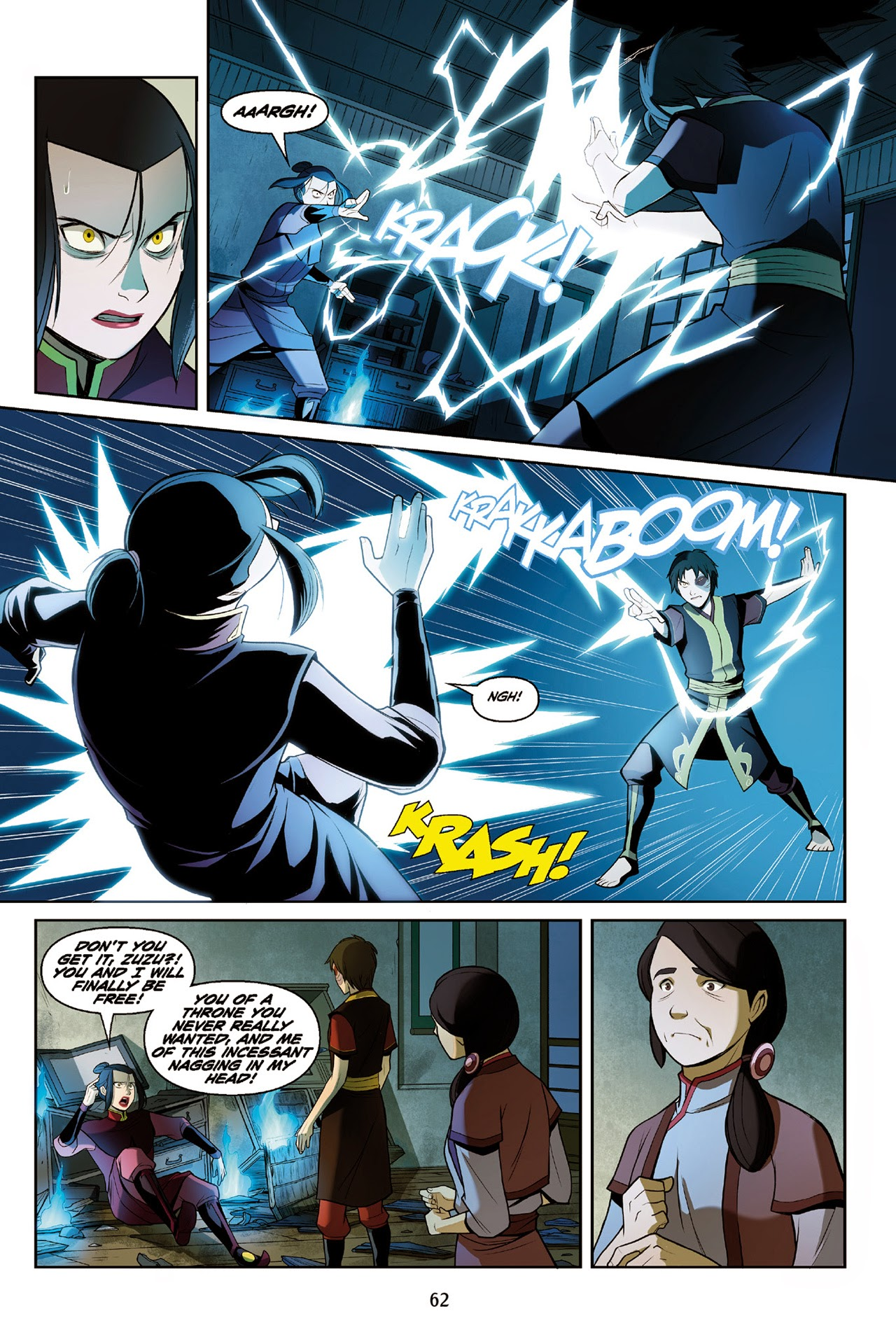 Read manga Avatar: The Last Airbender - The Search Part 3 B