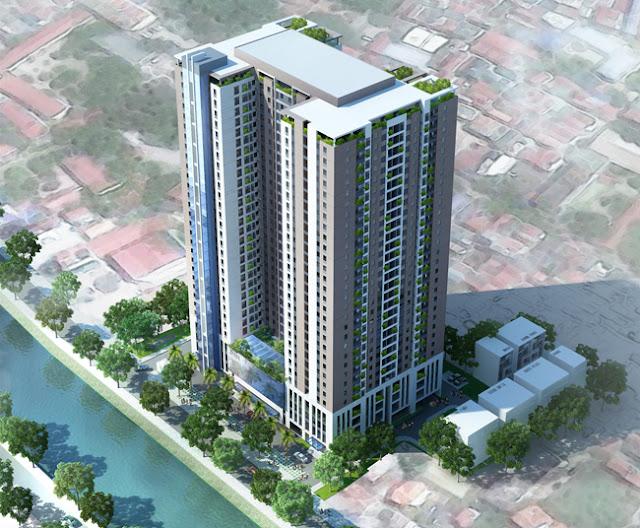 Chung cư Riverside Garden 45 Vũ Tông Phan