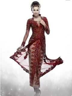 model baju batik rok panjang