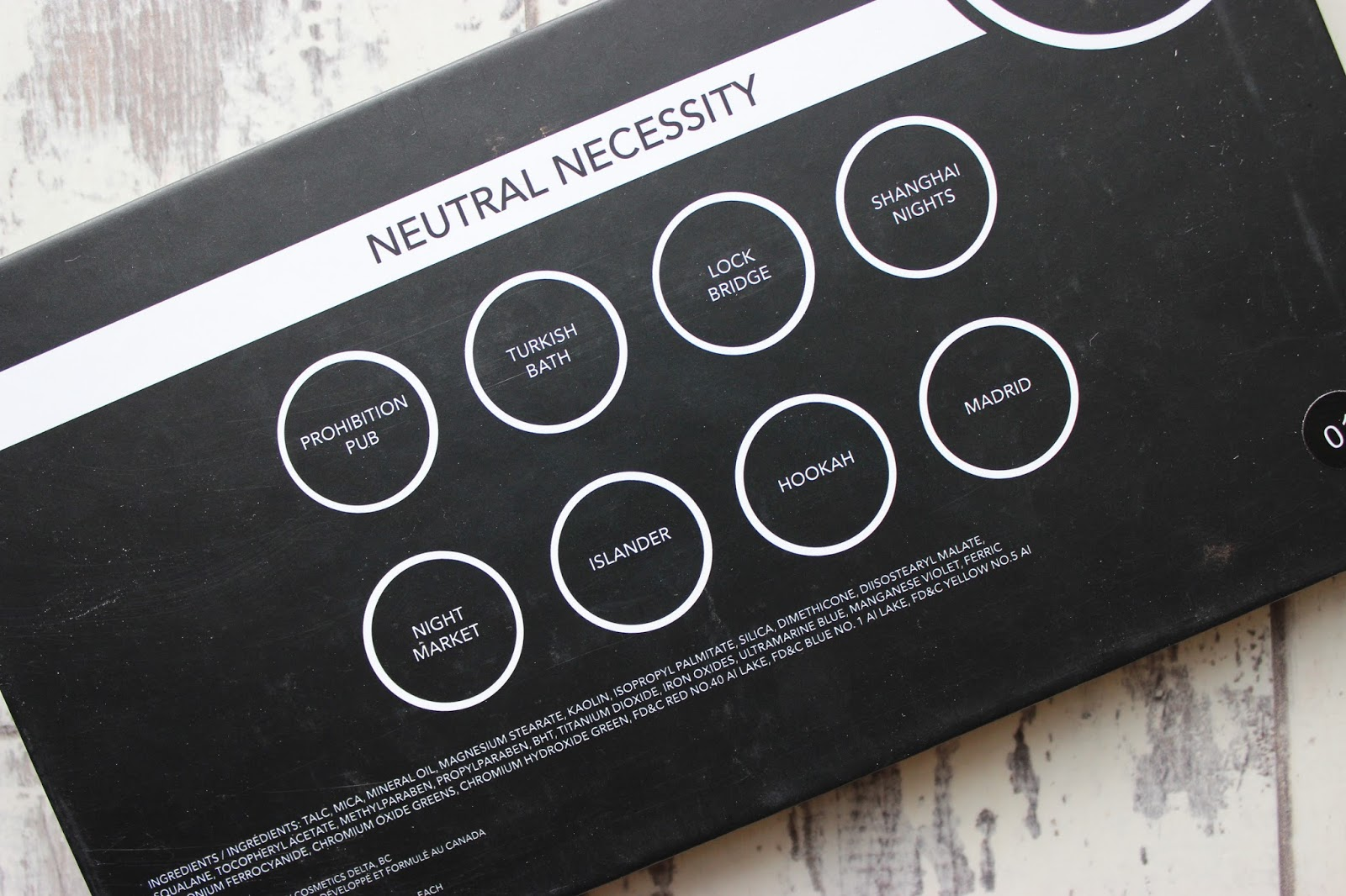PALETTES // SUVA BEAUTY NEUTRAL NECESSITY PALETTE (FIRST ...
