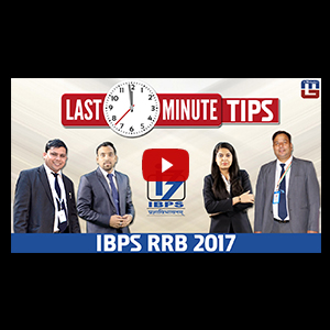 Last Minute Tips | IBPS RRB PO 2017 | With Mahendra Guru Experts