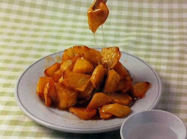 Картофель в сахаре по-китайски