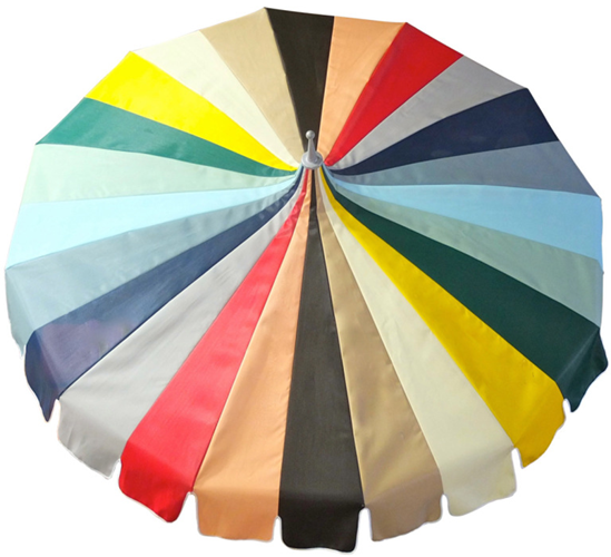 Vintage Pagoda Beach Umbrella from 1st Dibs: BG Galleries