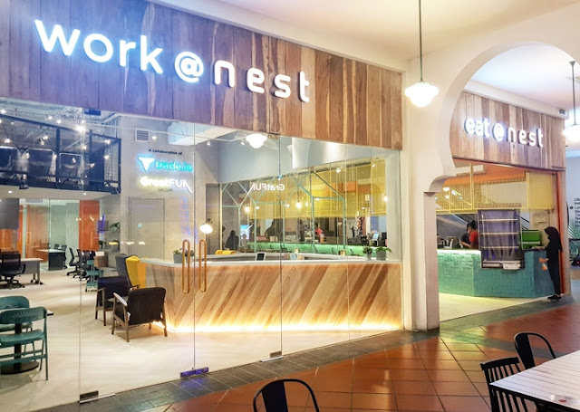 NEST, 1st Revolutionary F&B, Coworking Fusion Concept, coworking, Nest Malaysia, work @ nest, eat @ nest, gajah, the quickie bar, Pizzazone, Quick Fix Coffee Bar, tail & fin, coworking space, lifestyle