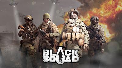 Black Squad guerreros armados listos para la batalla