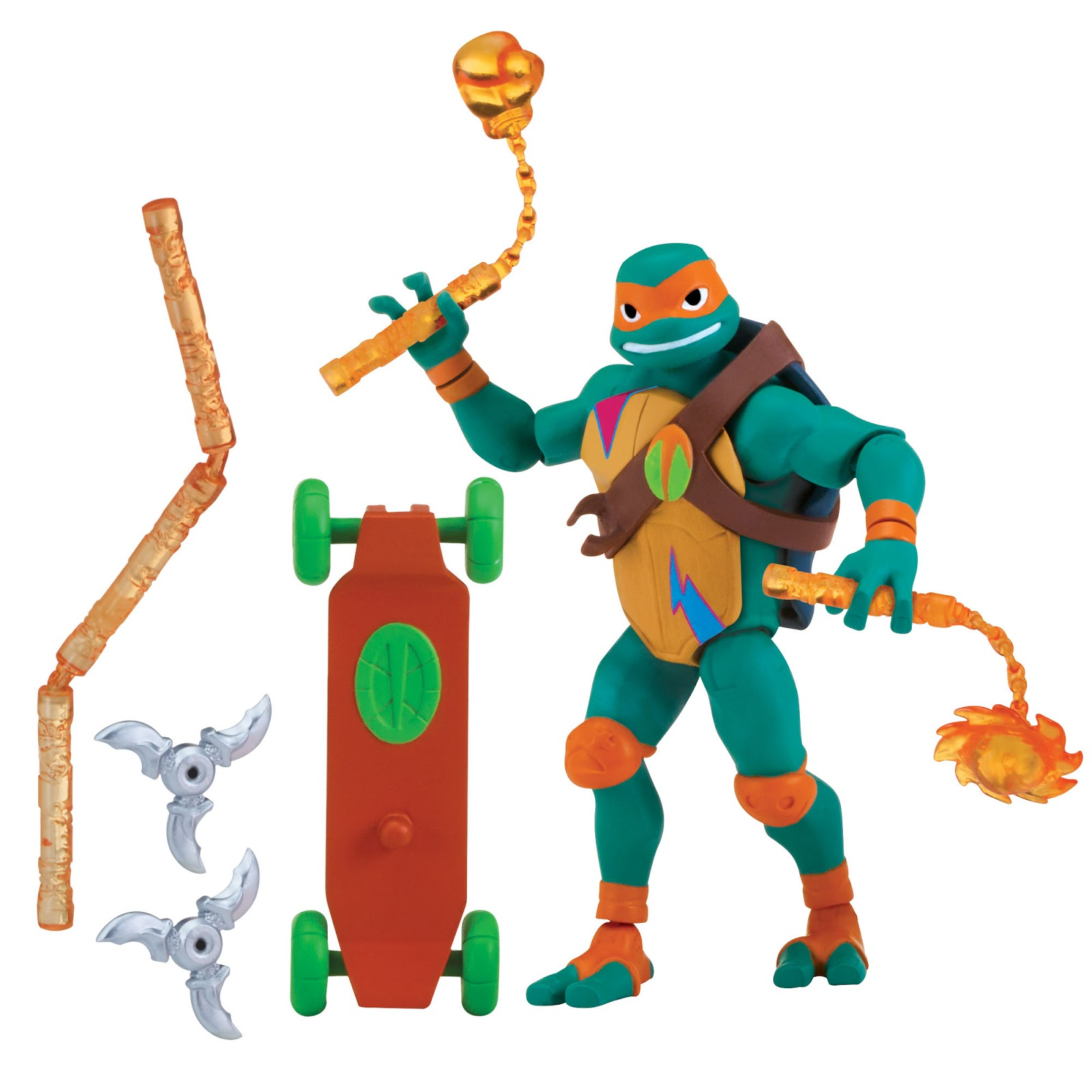 NickALive!: Playmates Toys to Showcase New 'Rise Of The ...Nickelodeon Ninja Turtles Toys