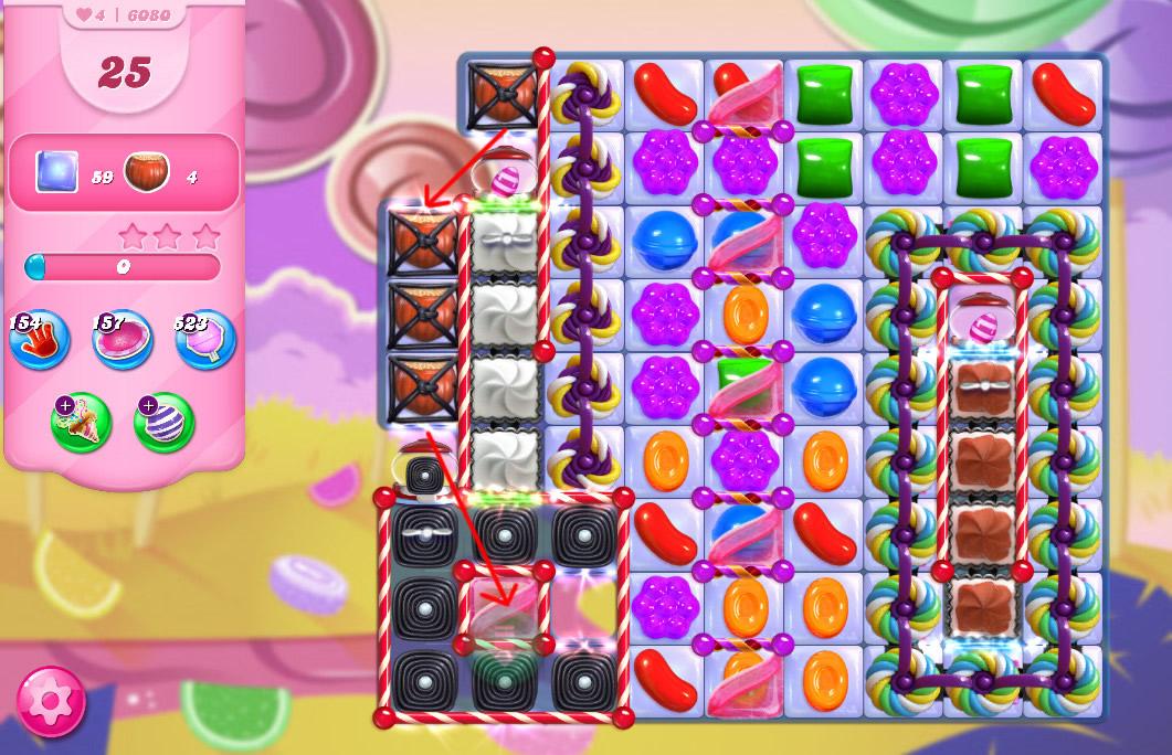 Candy Crush Saga level 6080