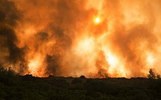 πάνω από 50 πυρκαγιές σε λιγότερες από 48 ώρες