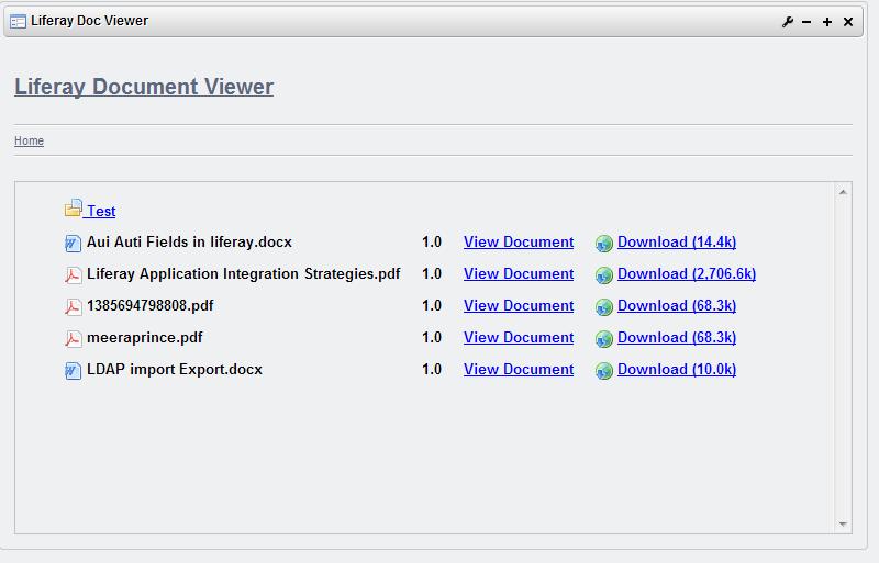 Liferay Document Viewer Plugin Portlet ~ Liferay Savvy