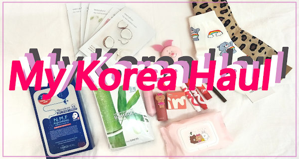 [Korea Haul] What I buy from Korea