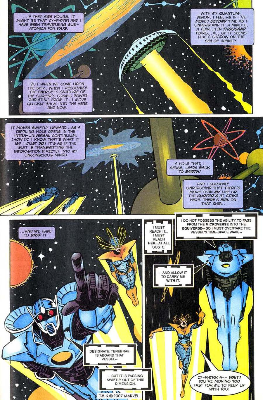 Read online Silver Surfer (1987) comic -  Issue #144 - 39