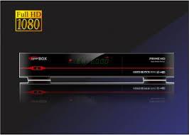 Atualizacao do receptor Superbox Prime HD V