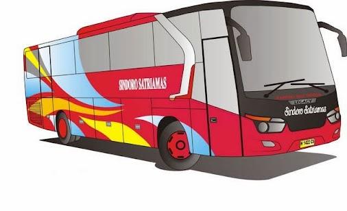 Mewarnai Gambar Bus Kota Ayo Mewarnai Bus Kota Bus Kota Atau Dalam