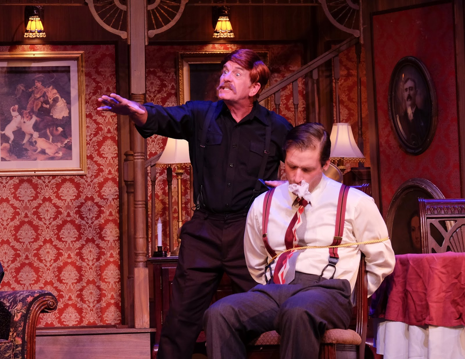 review of arsenic and old lace The players centre for the performing arts is presenting a fine production of joseph kesselring's classic comedy arsenic and old lace the play is probably one of the funniest ever written and it has aged well.