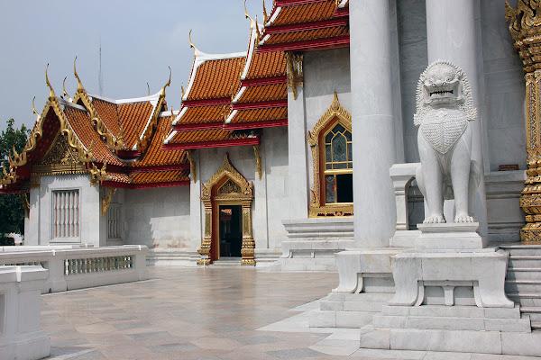 Templo de Mármol en Bangkok