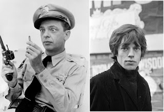 Don Knotts and Mick Jagger