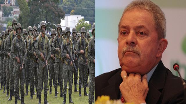 Resultado de imagem para Lula chama general do Exército e