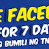 Talk 'N Text Free Facebook For 7 Days Promo