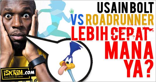 Mana Lebih Cepat Bolt Ataukah Road Runner?