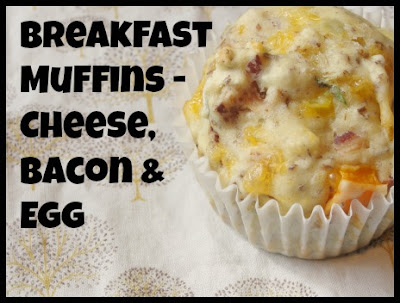 breakfast muffin, cheese, bacon and egg