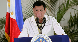 رئيس الفلبين: لا يوجد من لة الحق فى محاكمتى ولا بعد مليون سنة