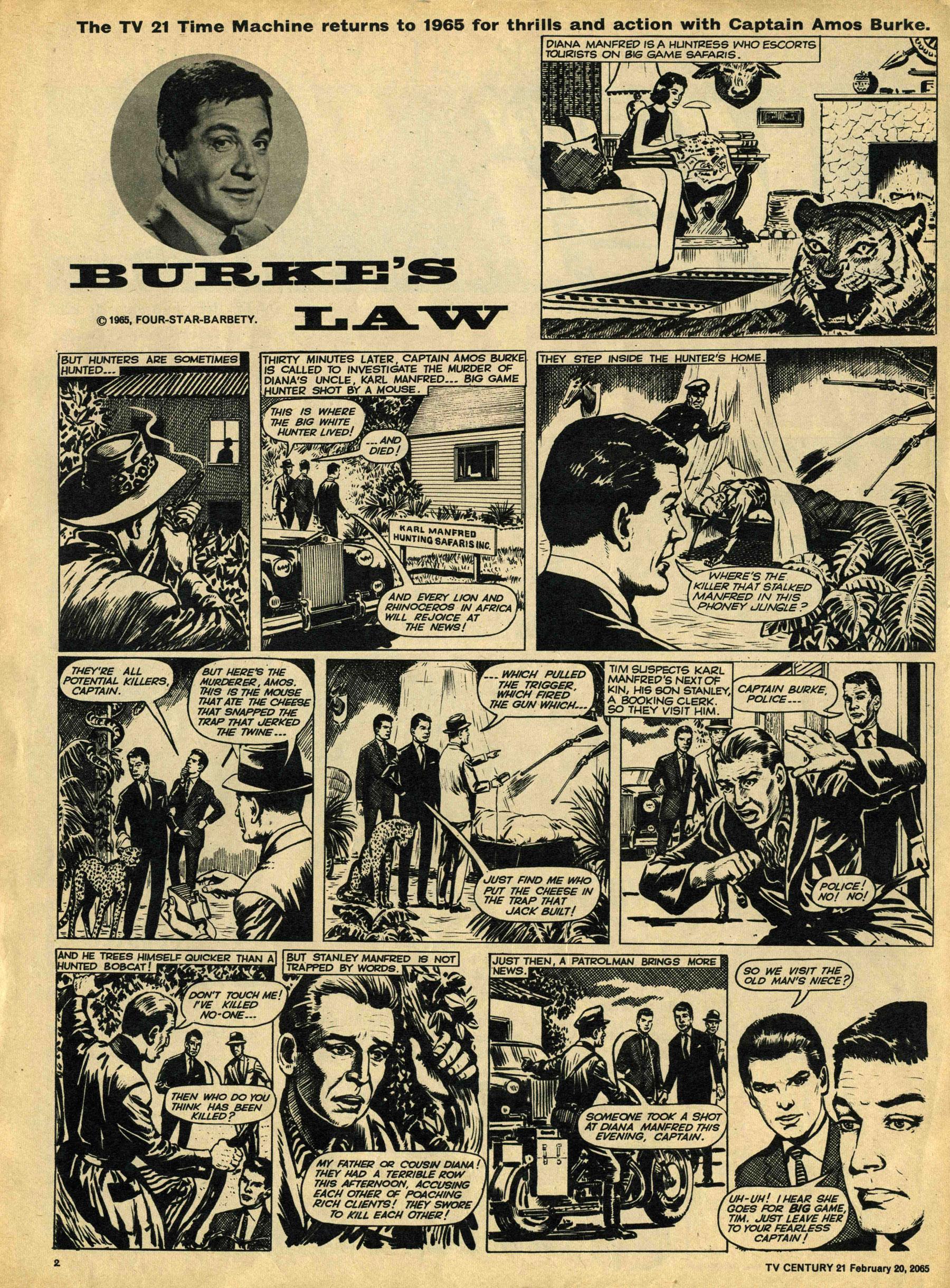 Read online TV Century 21 (TV 21) comic -  Issue #5 - 2