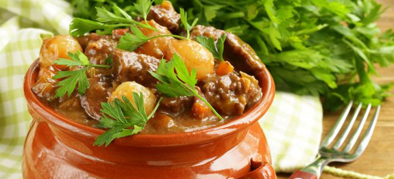 Simple Slow Cooker Beef Stew Recipe