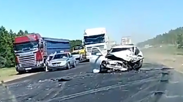 Страшное ДТП произошло на трассе Уфа-Самара Видео