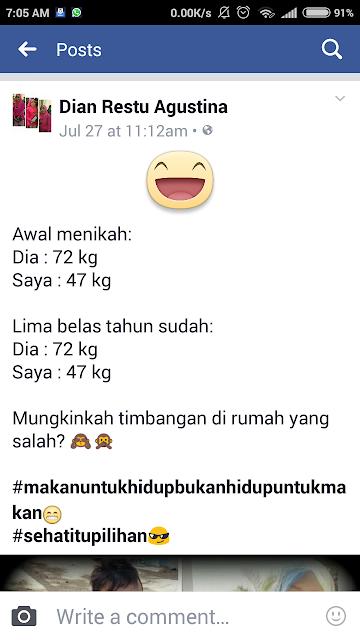 cara berat badan ideal